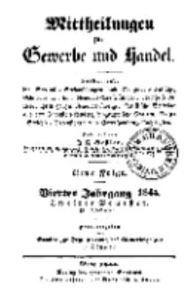Mitteilungen für Gewerbe und Handel, Juli, 1844