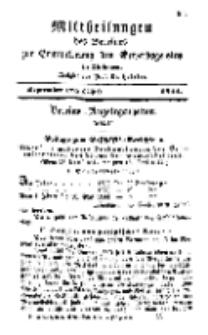 Mitteilungen für Gewerbe und Handel, September, 1844