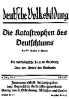 Deutsche Volksbildung, Jg. 5. Juli 1930, H. 6.