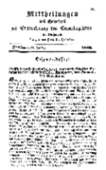 Mitteilungen für Gewerbe und Handel, Oktober, 1842