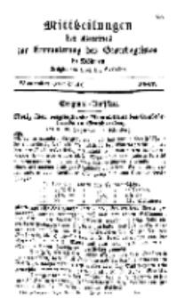 Mitteilungen für Gewerbe und Handel, November, 1842