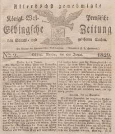 Elbingsche Zeitung, No. 2 Montag, 5 Januar 1829