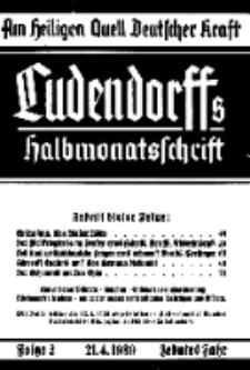 Am Heiligen Quell Deutscher Kraft, 21. April 1939, Folge 2.