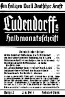 Am Heiligen Quell Deutscher Kraft, 2. Juni 1939, Folge 5.