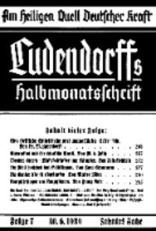 Am Heiligen Quell Deutscher Kraft, 30. Juni 1939, Folge 7.