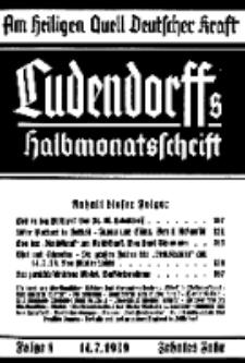 Am Heiligen Quell Deutscher Kraft, 14. Juli 1939, Folge 8.