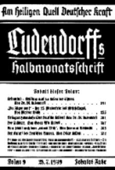 Am Heiligen Quell Deutscher Kraft, 28. Juli 1939, Folge 9.