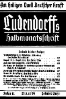 Am Heiligen Quell Deutscher Kraft, 25. August 1939, Folge 11.