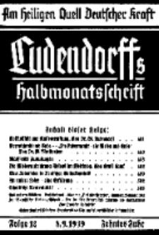 Am Heiligen Quell Deutscher Kraft, 8. September 1939, Folge 12.