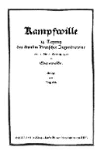 Unser Bund: Älterenblatt des Bundes deutscher Jugendvereine, Jg. 17. Oktober/November 1928, Nr 10/11.
