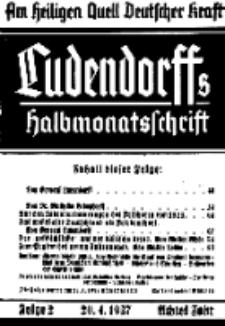 Am Heiligen Quell Deutscher Kraft, 20. April 1937, Folge 2.