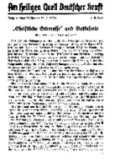 Am Heiligen Quell Deutscher Kraft, 5. August 1937, Folge 9.
