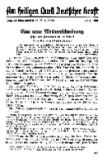 Am Heiligen Quell Deutscher Kraft, 20. März 1938, Folge 24.