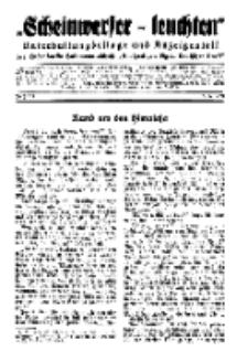 """""""Scheinwerfer-Leuchten""""...Am Heiligen Quell Deutscher Kraft, 5. Januar 1939, Folge 19."""
