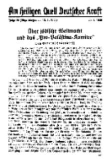 Am Heiligen Quell Deutscher Kraft, 20. Januar 1939, Folge 20.