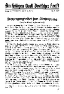 Am Heiligen Quell Deutscher Kraft, 20. Februar 1939, Folge 22.