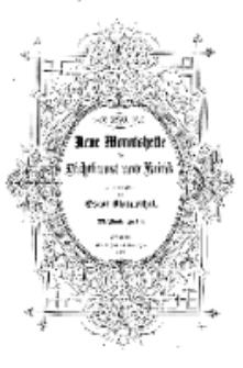 Neue Monatshefte für Dichtkunst und Kritik, 1876, Bd. 3, H. 3.