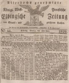 Elbingsche Zeitung, No. 44 Montag, 1 Juni 1829