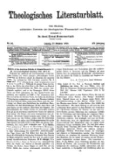Theologisches Literaturblatt, 27. Oktober 1933, Nr 22.