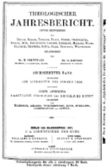 Theologischer Jahresbericht, 1896, Abteilung 4.