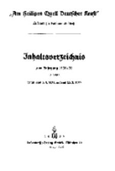 Am Heiligen Quell Deutscher Kraft, 5. April 1938, Folge 1.