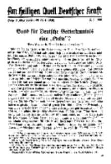 Am Heiligen Quell Deutscher Kraft, 5. Mai 1938, Folge 3.