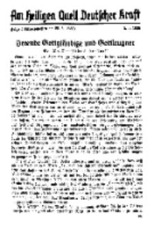 Am Heiligen Quell Deutscher Kraft, 5. Juni 1938, Folge 5.