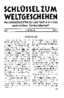 Der Schlüssel zum Weltgeschehen : Monatsschrift für reine und angewandte Welteiskunde, Jg.4. 1928, H. 4.