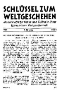 Der Schlüssel zum Weltgeschehen : Monatsschrift für reine und angewandte Welteiskunde, Jg.5. 1929, H. 5.