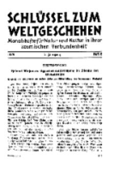 Der Schlüssel zum Weltgeschehen : Monatsschrift für reine und angewandte Welteiskunde, Jg.5. 1929, H. 6.