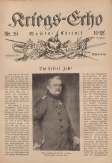Kriegs-Echo: Wochen=Chronic, 5. Februar 1915, Nr 26.