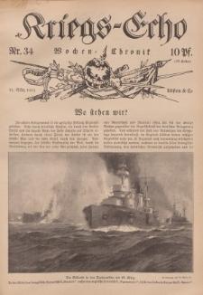 Kriegs-Echo: Wochen=Chronic, 31. März 1915, Nr 34.