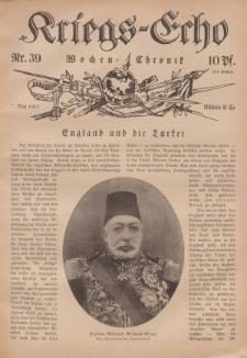 Kriegs-Echo: Wochen=Chronic, 7. Mai 1915, Nr 39.