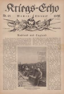 Kriegs-Echo: Wochen=Chronic, 9. Juli 1915, Nr 48.