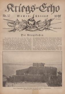 Kriegs-Echo: Wochen=Chronic, 10. September 1915, Nr 57.