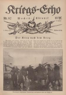 Kriegs-Echo: Wochen=Chronic, 3. März 1916, Nr 82.