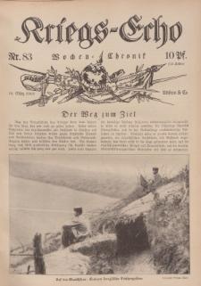 Kriegs-Echo: Wochen=Chronic, 10. März 1916, Nr 83.