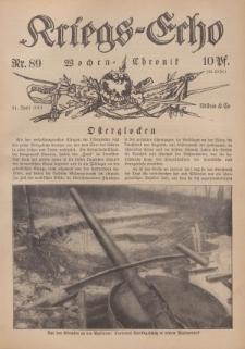 Kriegs-Echo: Wochen=Chronic, 21. April 1916, Nr 89.