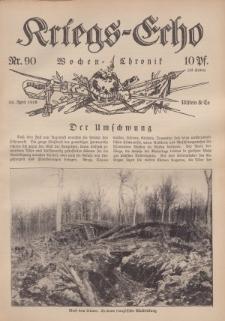 Kriegs-Echo: Wochen=Chronic, 28. April 1916, Nr 90.
