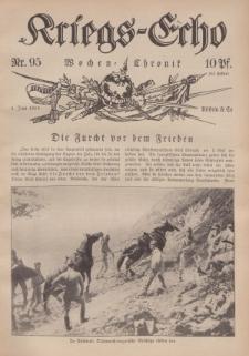 Kriegs-Echo: Wochen=Chronic, 2. Juni 1916, Nr 95.