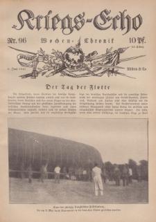 Kriegs-Echo: Wochen=Chronic, 9. Juni 1916, Nr 96.