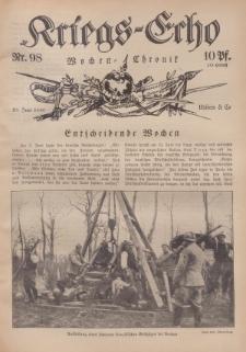 Kriegs-Echo: Wochen=Chronic, 23. Juni 1916, Nr 98.