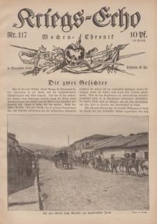 Kriegs-Echo: Wochen=Chronic, 3. November 1916, Nr 117.