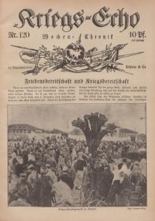 Kriegs-Echo: Wochen=Chronic, 24. November 1916, Nr 120.