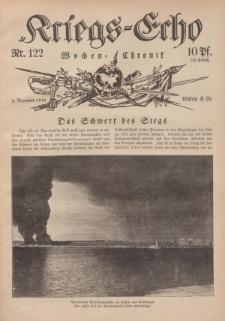 Kriegs-Echo: Wochen=Chronic, 8. Dezember 1916, Nr 122.