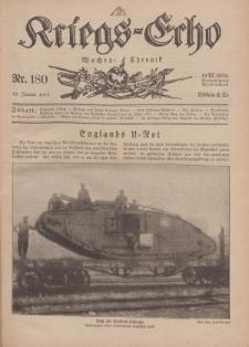 Kriegs-Echo: Wochen=Chronic, 18. Januar 1918, Nr 180.