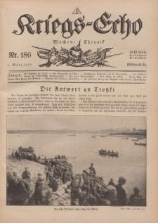 Kriegs-Echo: Wochen=Chronic, 1. März 1918, Nr 186.