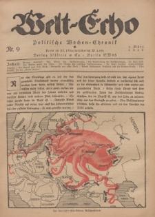 Welt Echo: Politische Wochen=Chronic, 3. März 1919, Nr 9.