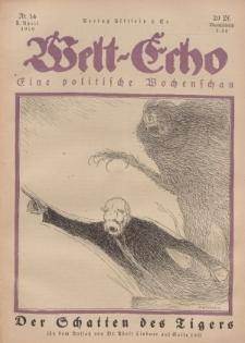 Welt Echo: Eine politische Wochenschau, 3. April 1919, Nr 14.