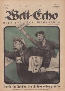 Welt Echo: Eine politische Wochenschau, 1. Mai 1919, Nr 18.